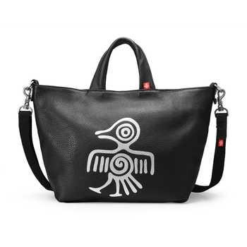 Orabird Luxury Women Tote Bags Soft Genuine Leather Deformation Ladies Big Shopper Bag Large Capacity Shoulder Crossbody Handbag - Category 🛒 Luggage & Bags