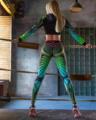 С высокой талией, спортивные Леггинсы для женщин для цифровой печати пуш-ап брюки для йоги тренажерного зала тренировки фитнес штаны Высоки...