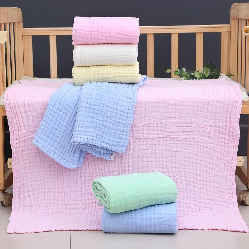 Baby Blankets Newborn Baby Swaddle Wrap Muslin Swaddle Bamboo Muslin Blanket Baby Blanket Cotton Muslin Cloth Manta Bebe Diaper