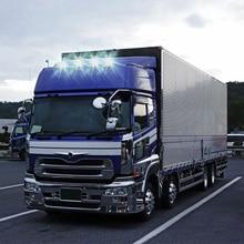 4pcs/set 12V Trailer Car Easy Install Universal LED License Plate Light Number Tag Rear Lamp Caravan Signal Lorry Truck Van