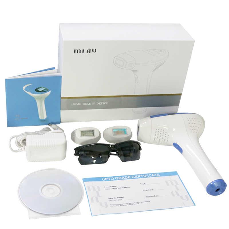 Mlay IPL depilador una máquina de depilación láser Aparato de pigmentación con 500000 disparos bikini depilador para mujeres