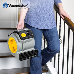 Image 5 - Vacmaster Floor Dryer, Ground Blower, Portable Air Mover For House, 3 Speed, 19M/S, 550CFM