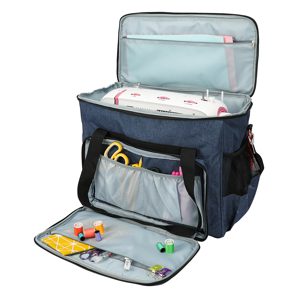 Multi-functional Oxford Cloth Sewing Machine Storage Bag Large Capacity Sewing Tools Handbag Oxford Cloth Home Use Assorted Tote