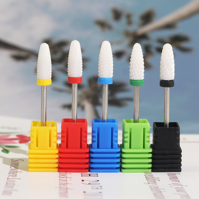 Milling Cutter For Manicure Ceramic Nail Drill Bits Pedicure Milling Cutter For Nail Files Manicure Cutter Nail Art Tools 2