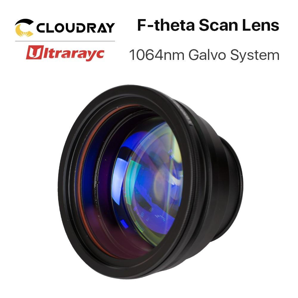 Ultrarayc 1064nm F-theta Scan Lens Field Lens Focal length 63-420mm Scan Field 50×50-300×300 for YAG Fiber Laser Galvo System