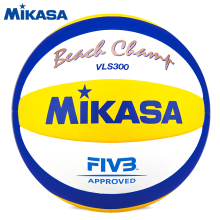 Original Mikasa Volleyball Beach Champ VLS300 FIVB Approve Official Game Ball National Competition Outdoor Beach Volleyball