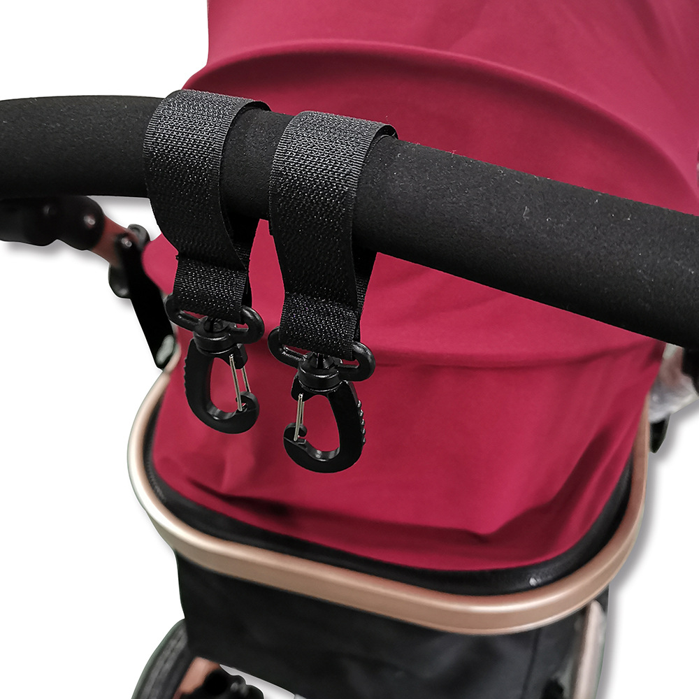 2pcs בטיחות עגלת אבזר ווי כיסא גלגלים עגלת Pram תיק וו תינוק עגלות קניות תיק קליפ עגלת אבזרים