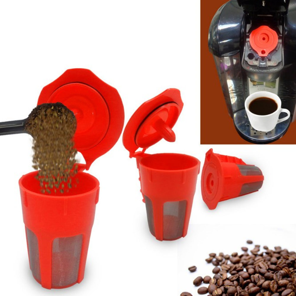 Reusable Carafe K-Cups Reusable coffee filter for the Keurig 2.0, K200, K300, K400, K500 Series of Machines Refillable K Carafe