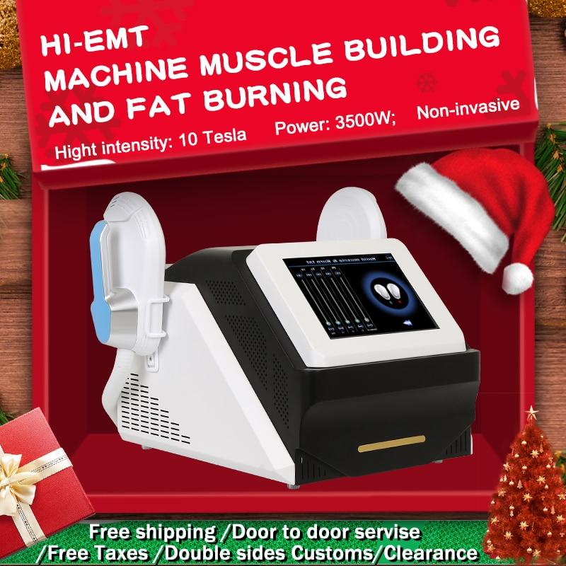 2020 Portable EMslim HI-EMT machine Muscle Stimulation EMS electromagnetic fat burning shaping hiemt beauty equipment