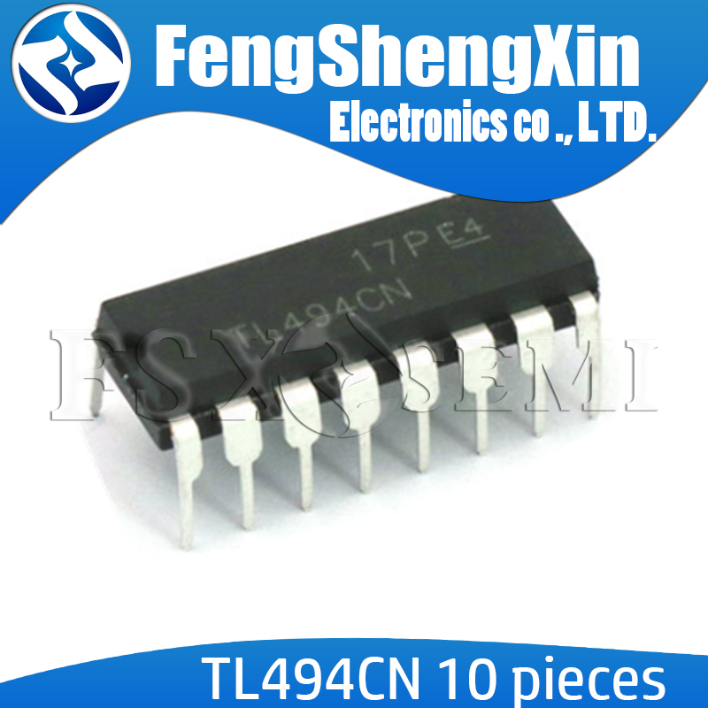 10pcs/lot TL494CN DIP16 TL494C DIP TL494 494CN DIP-16 TL494CDR SOP-16 PULSE-WIDTH-MODULATION CONTROL CIRCUITS  IC