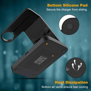 Image 5 - 5 Trong 1 Đế Đứng Sạc Nhanh Dành Cho Samsung S20 iPhone 11 IWatch 15W Sạc Không Dây Qi Cho Galaxy đồng Hồ Bánh Răng Nụ Tai Nghe Airpods Pro