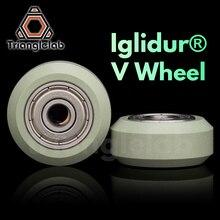 trianglelab iglidur® V wheel 625ZZ bearing High-quality IGUS material manufacturing V-slot V-type for ender 3 cr-10 3D printer
