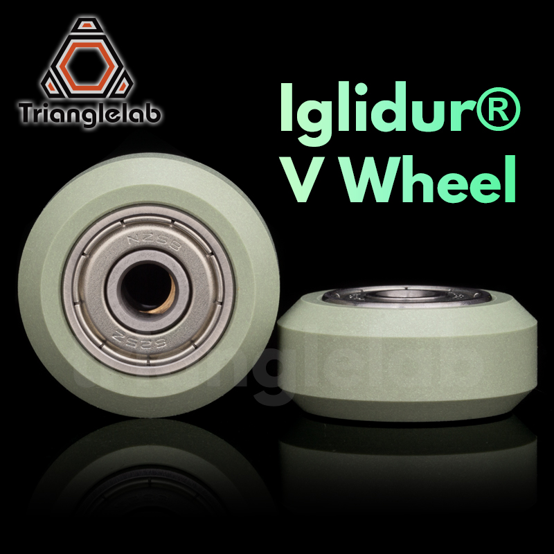 trianglelab iglidur® V wheel <font><b>625ZZ</b></font> bearing High-quality IGUS material manufacturing V-slot V-type for ender 3 cr-10 3D printer image