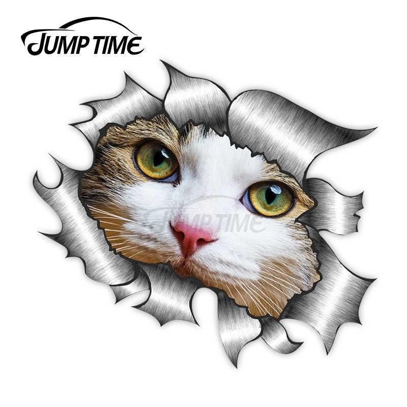 Смешные коты животного автомобильного окна двери стены бампер виниловая наклейка переводная картинка для ноутбука декор