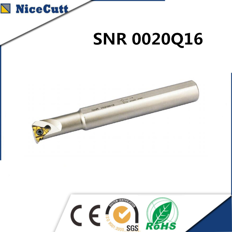 SNR0020Q16 Extension Milling Carbide Tool Holder Lathe Turning Tool Holders High Quality Freeshipping