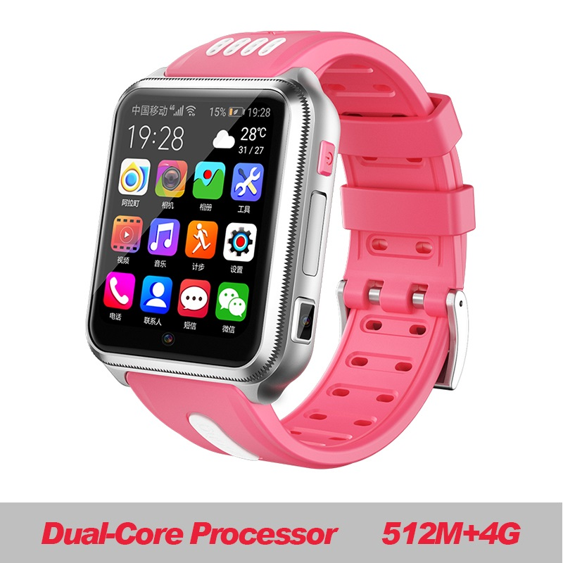 W5 2020 NFC Waterproof 4G Smartphone Watch Downloadable APP MP4 Play AI Smart Voice Smartwatch Lemf Saatler Relog Kw88 Pro L8 image
