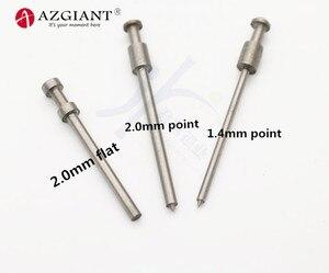 Image 4 - 1.5/2.0mm pino dedal para 2019 bafute ferramenta de fixação chave flip vice chave da aleta removedor de pino chave desmontar ferramenta de serralheiro