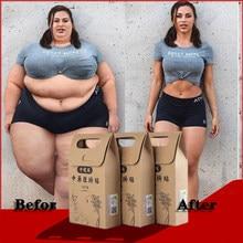 10 ピース/バッグ中国医学痩身食事パッチ減量最強スリムパッチデトックス粘着シートフェイスリフトツール