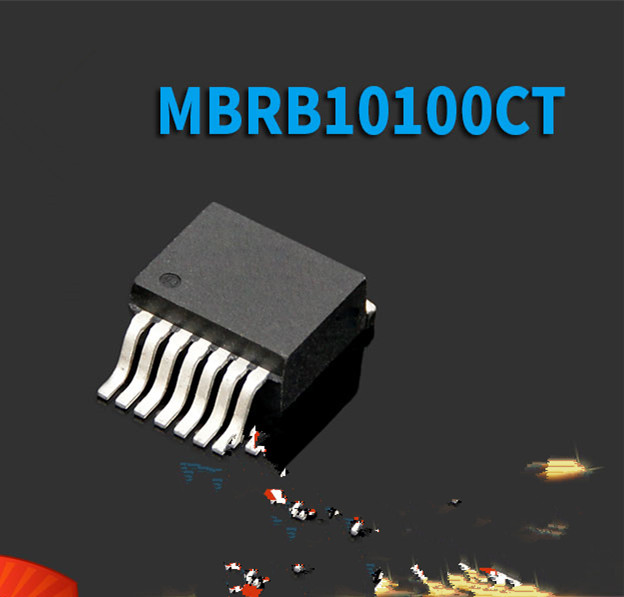 50 шт./лот MBRB10100CT TO-263 10A 100V в наличии лучшее качество