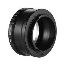 M42 EOS M obiektyw do modeli Canon EOS M M2 M3 M5 M6 M10 M50 M100 mocowanie kamery adapter obiektywu pierścień dla M42 obiektyw do Canon EOS M z serii