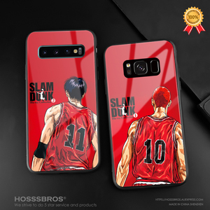 Slam Dunk anime Sakuragi Rukawa Soft Silicone glass Phone Case for Samsung Galaxy S8 S9 S10e S10 S20 Ultra Note 8 9 10 Plus(China)