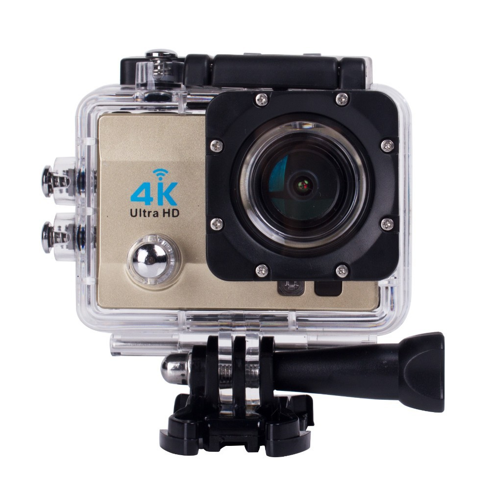 Action Camera Ultra HD 4K / 25fps WiFi 2.0 170D Underwater Camera Go Waterproof Pro Helmet Sport Cam for Riding Climbing image