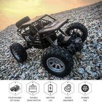 Auto elettrica RC auto 1:18 4WD telecomando auto Buggy fuoristrada veicolo ad alta velocità giocattoli elettrici regali per bambini