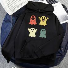 Толстовка на Хэллоуин с милым принтом призрака одежда для подростков