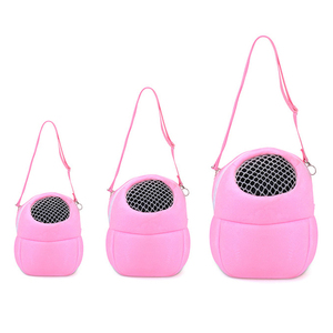 Розовый маленький аксессуар для переноски животных, коралловый флис, аксессуар для хомяка, шиншиллового кролика, плюшевый ежик, клетка для ...