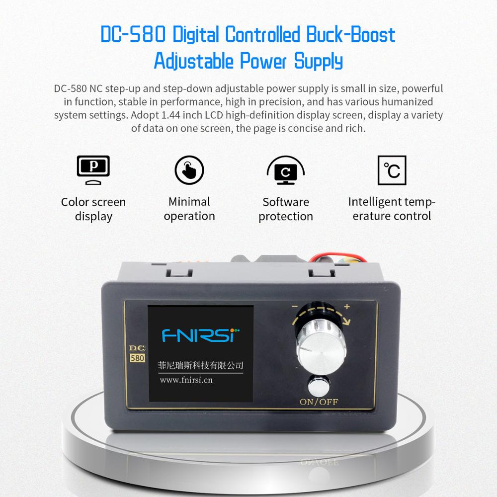 DC DC Buck Boost Converter преобразователь напряжения CC CV 0.6-36V 5A Power Module Adjustable Regulated laboratory power supply variable