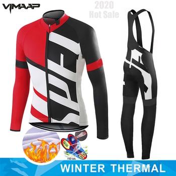 Camisa de ciclismo 2020 pro equipe northwave bicicleta estrada inverno ciclismo roupas mtb ciclismo bib calças dos homens ropa ciclismo lã térmica 1