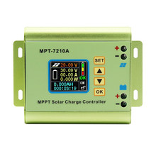 MPT-7210A LCD MPPT Solar Panel Charge Controller Aluminium Alloy untuk Baterai Lithium Output 600W 24V 36V 48V 60V 72V Battery Pack(China)