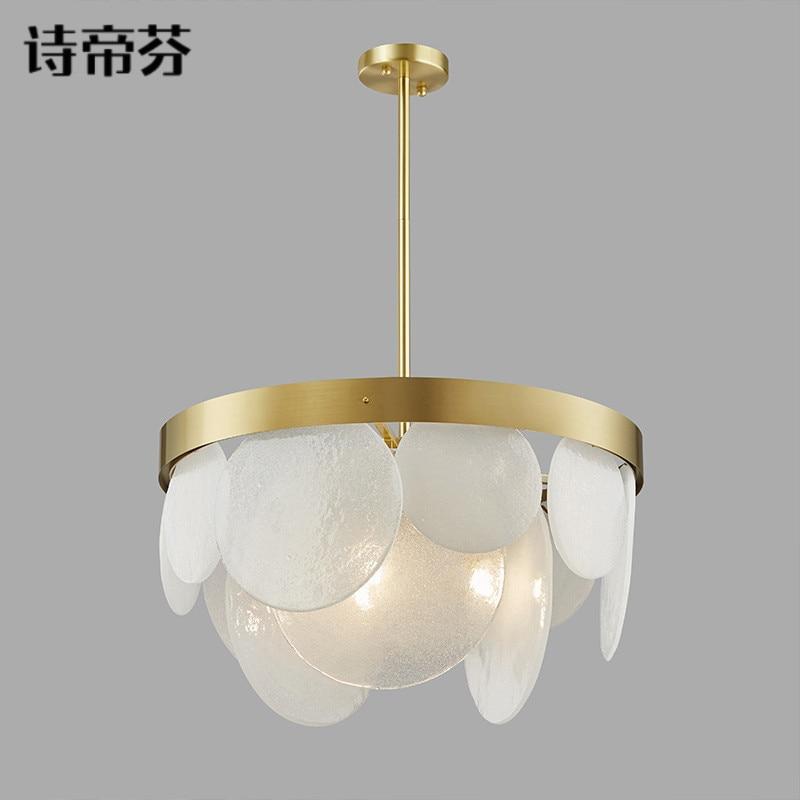 Modern Luminaire Suspendu Lustre Pendente Glass Ball LED  Pendant Lights  Restaurant  Hanging Ceiling Lamps Hanglamp