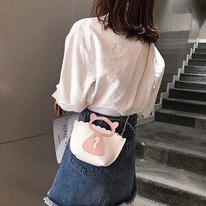 Image 4 - Individual cat chain mini casual bag Korean style new style single shoulder single shoulder bag.