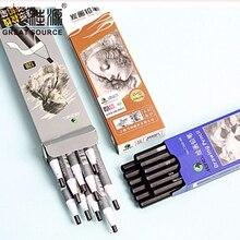 Art Pencil Charcoal Drawing Line Drawing Pencil Sketch Pencil (120pcs/box)