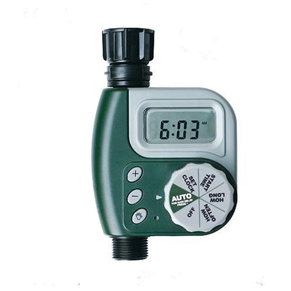 Wasserhahn Timer G3/4 Interface Botanik Wasser Rohr Gärtner Grün ABS Wasserdicht Die Blume Betten Bewässerung Ausrüstung Pflanzen