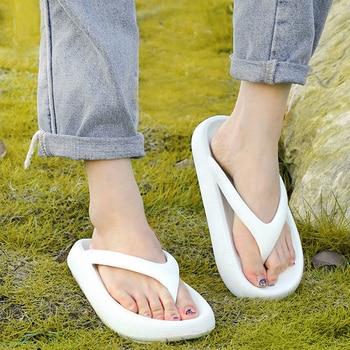 Womens Thick Bottom Flip-Flops