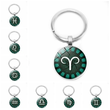 2019 New 12 Zodiac Constellation Keychain Fashion Pisces Taurus Aries Pendant To Send Friends Gifts Must