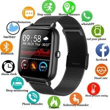 2021 Smart Watch Men Women Blood Pressure Heart Rate Fitness Tracker Bracelet Sport Smartwatch Watch Smart Clock For Android IOS