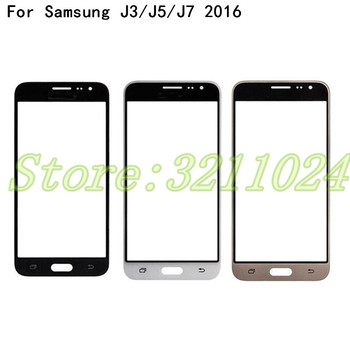 For Samsung Galaxy J3 J5 J7 2016 J310 J510 J5108 J710 J7108 Touch Screen Front Panel Glass Lens Outer LCD Glass image