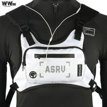 Detachable Running Bag Sports Chest Rig Vest Portable Tactic