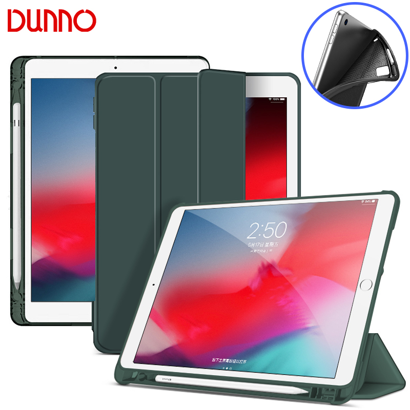For IPad 7th Generation 2019 IPad 10.2 Case For 2018 IPad 9.7 5/6th Air 2 10.5 Air 3 Mini 4 Mini 5 Pencil Holder Smart Cover