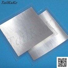 40 unidades x tamaño: 40mm x 40mm x 0,2mm lámina de indio lámina de aluminio en: 4N5;