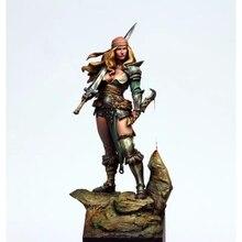 1:24 resina figura modelo kit unassambled sem pintura g635 (sem base)