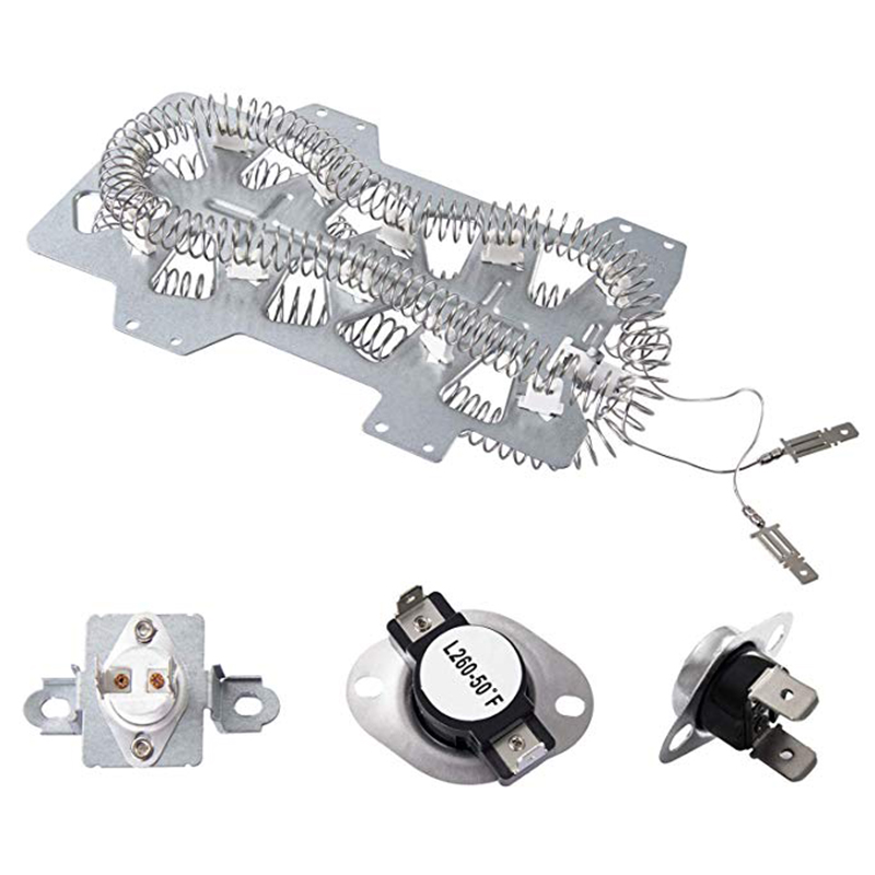 Dryer Repair ReplacementKit Fit For Samsung, Dryer Heating Elements(DC47-00019A) Thermal Fuse( DC96-00887A) And (DC47-00016A),