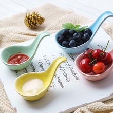 Caviar Spoon Household Nordic Ceramic Japanese Commercial Japanese-Style Soy Sauce Seasoning Dipping Sauce Bowl Dish bowls Other seasoning dish creative nordic household ceramic snack pepper sauce dipping sauce seasoning tomato dip soy sauce vinegar dish