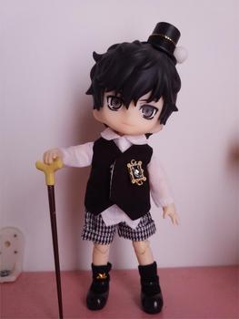 1 Juego de ropa de estilo Caballero para Nendoroid Obitsu11 OB11 1/12 muñeca disponible para cu-poche OB11 muñeca accesorios muñeca