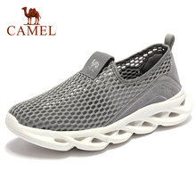 Outdoor-Shoes CAMEL Slip-On Walking Sport Casual Summer Women Soft Breathable Spring