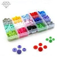 Пластиковые кнопки для детской одежды, 150 шт., T3, T5, круглые кнопки для детской одежды