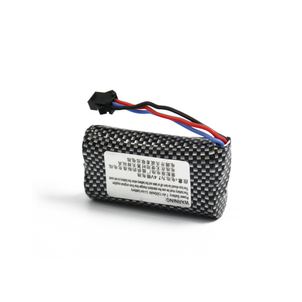 7.4V 1200mAh Lipo Battery Lightweight Rechargeable Battery For RC Racing Car GW124 2.4Ghz Off-road Stunt Car Parts